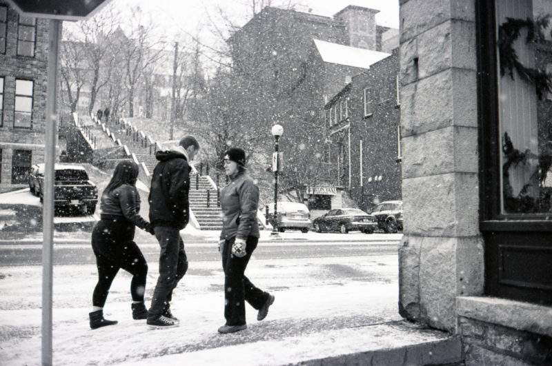 The Snow shot by //d. for A City Like Ours