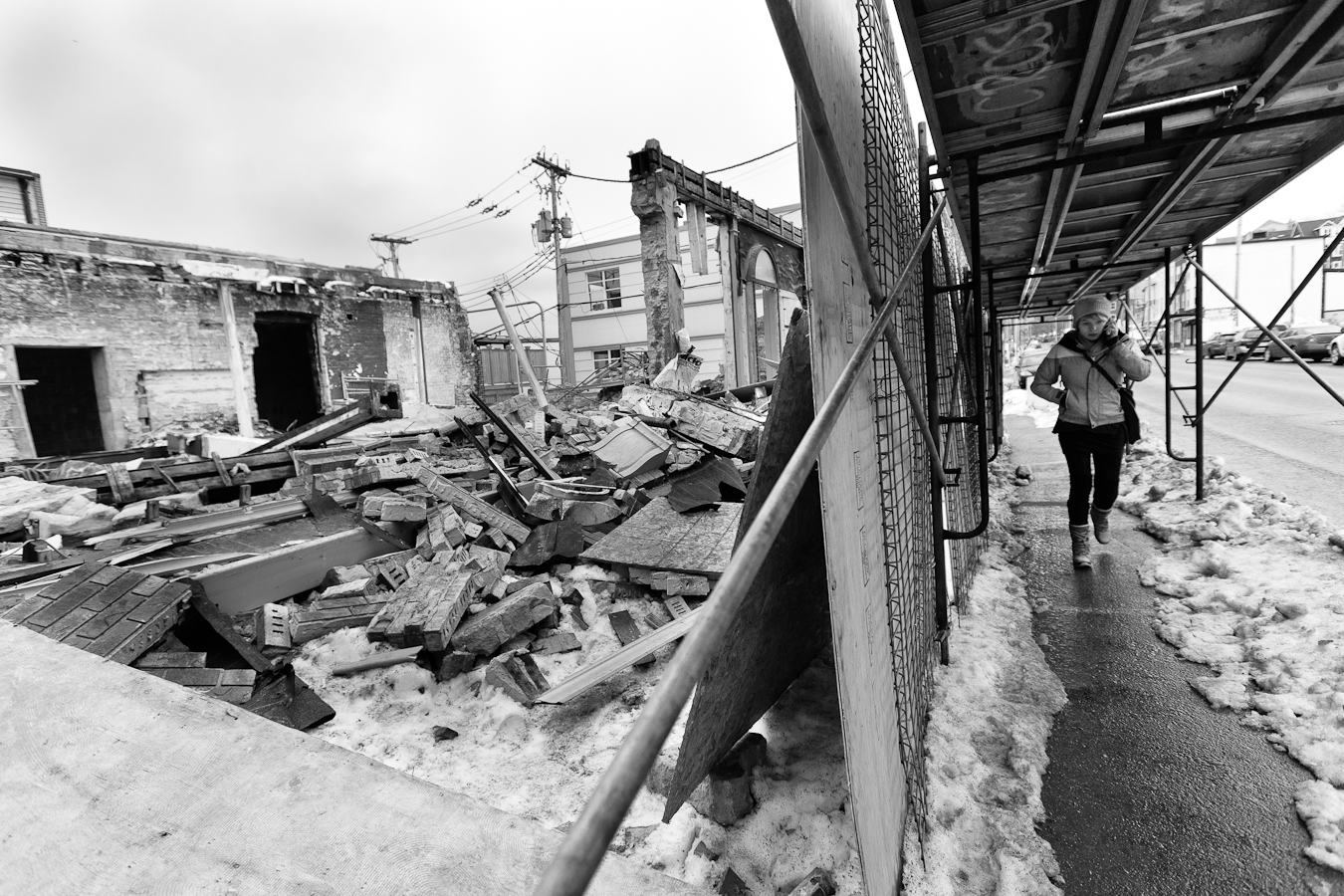 Rubble II shot by D. EDWARDS for A City Like Ours