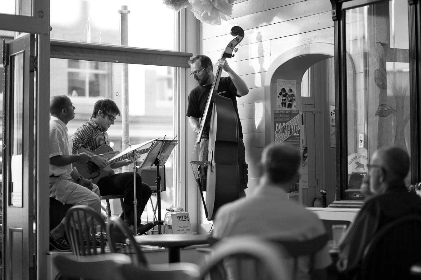 Atlantic Jazz Trio  shot by D. EDWARDS for A City Like Ours