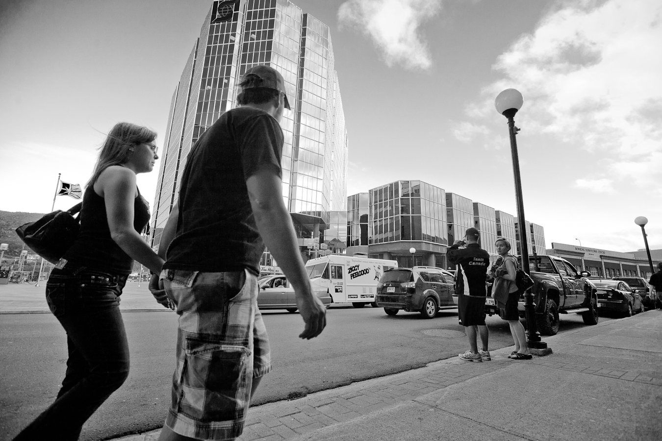 Unasuming Couple shot by D. EDWARDS for A City Like Ours