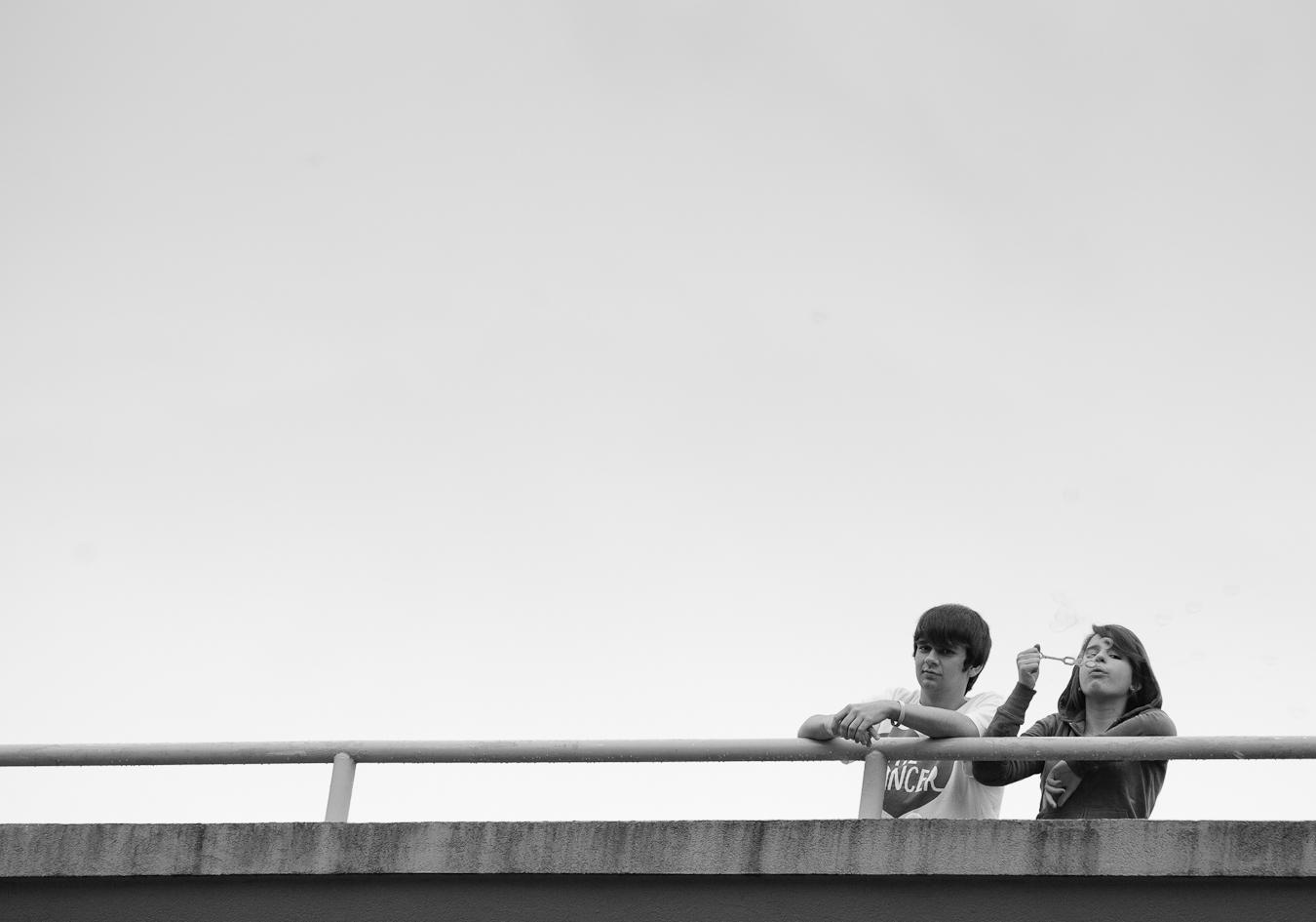 Bubble Blowers, shot by D. EDWARDS