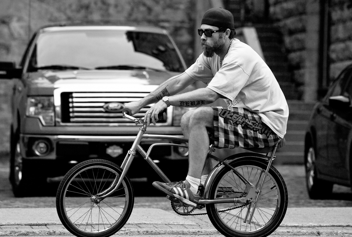 Gentleman cycles his Lowrider shot by D.Edwards
