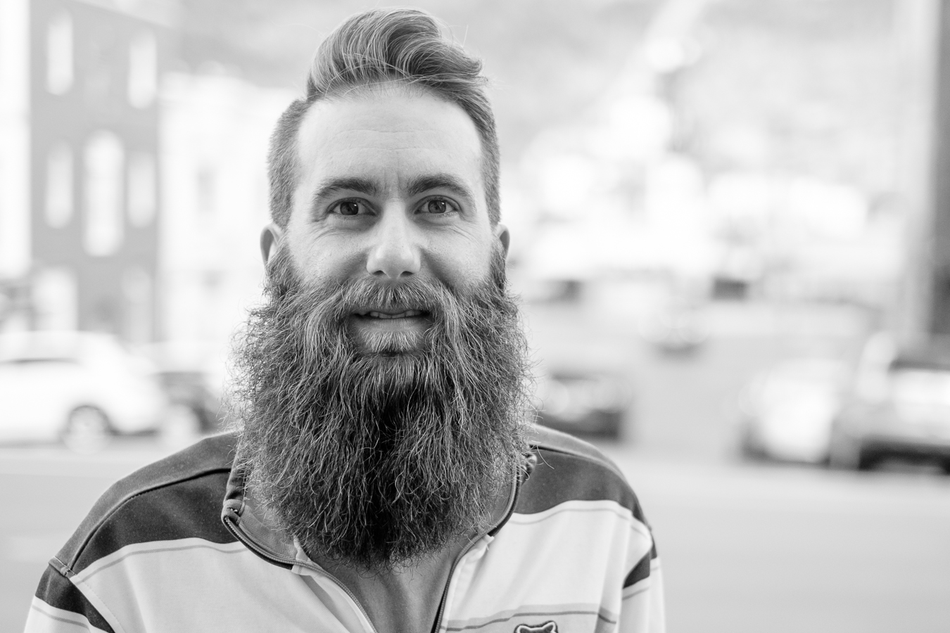 David from Moncton NB just recently participated in a beard competition in his home town - Water Street