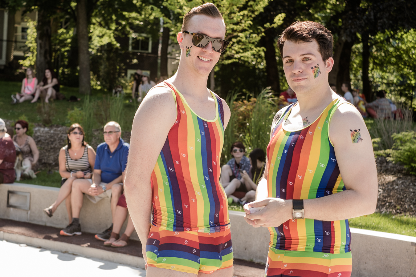I think Evan and jon  win for best dressed at the 2016 Pride Celebrations -  Bannerman Park